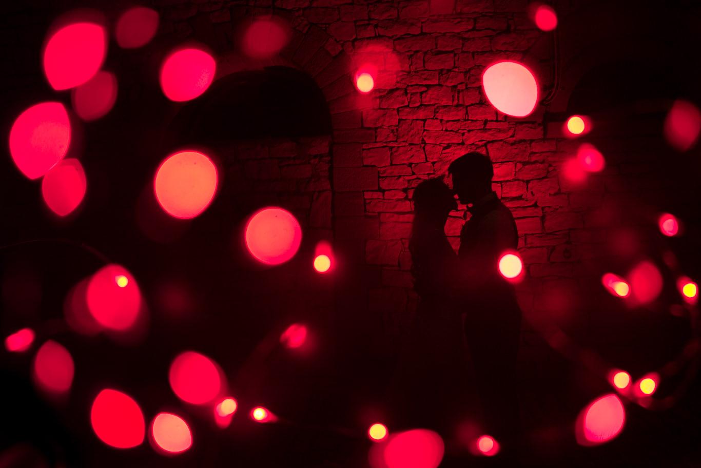 Doppelbelichtung Hochzeitsfotograf Hofgut Langenau