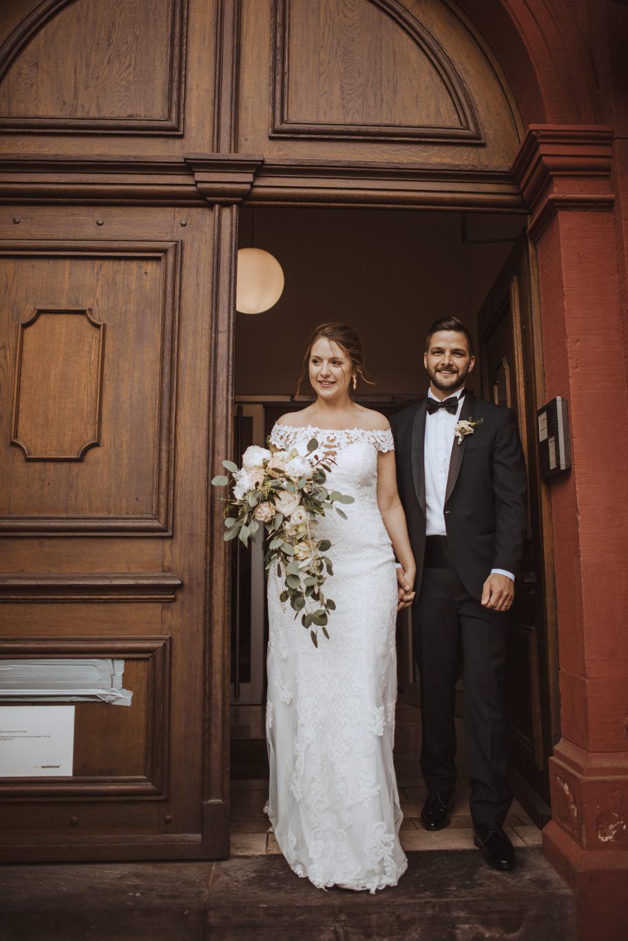 Hochzeitsfotograf Mannheim Altes Rathaus Standesamt