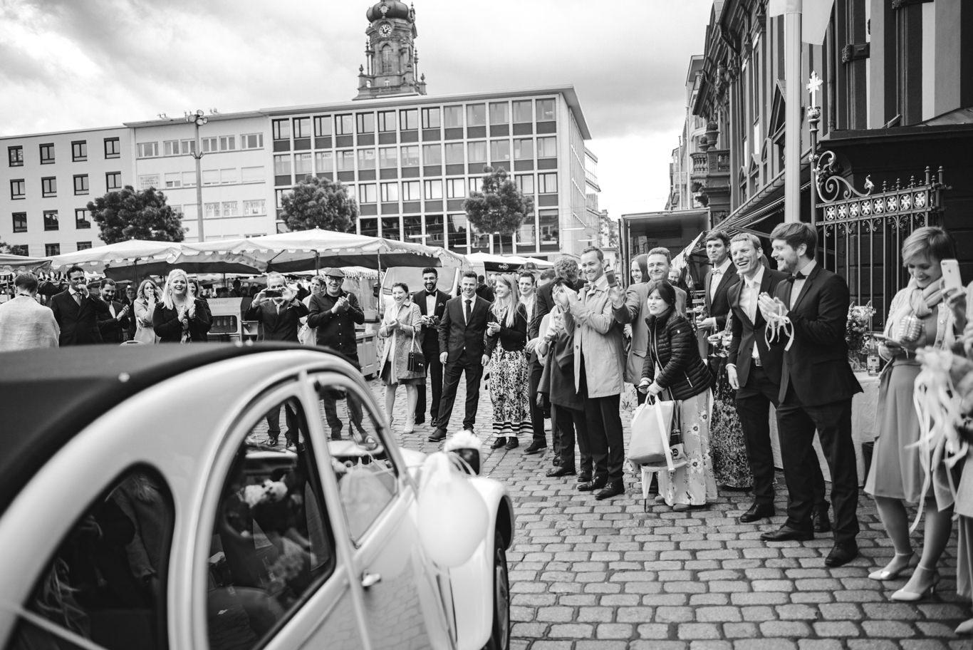 Hochzeitsfotograf Altes Rathaus Mannheim Marktplatz