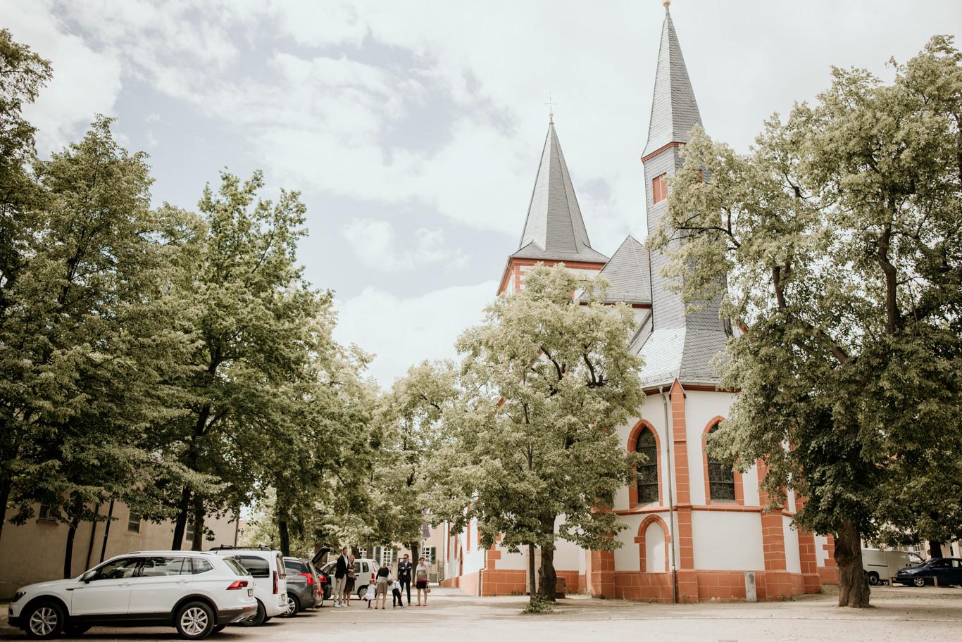 Hochzeitsfotograf Evangelische Kirche Westhofen
