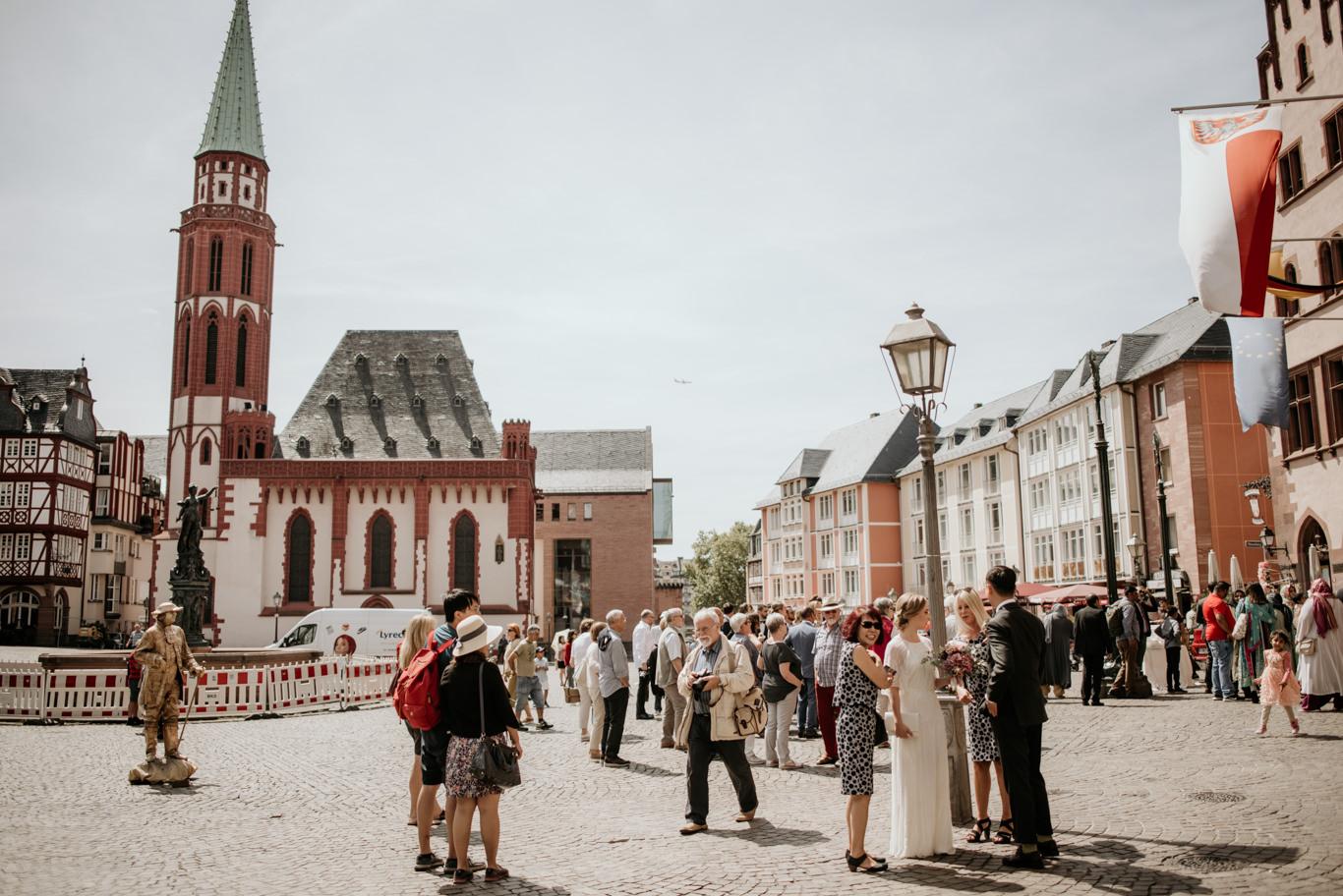 Hochzeitsfotograf Frankfurt Römer Hochzeit Fotograf Reportage