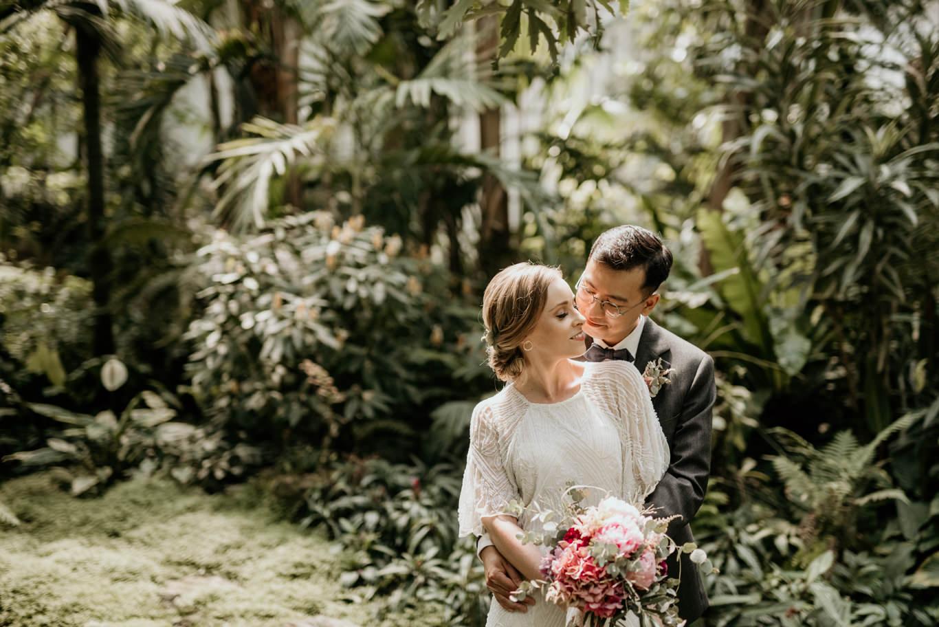 Simone Sohl Fotografie Hochzeit In Frankfurt Palmengarten Und Romer